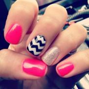 mixed nails