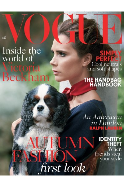 Victoria Beckham Vogue Cover