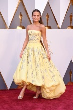 Mandatory Credit: Photo by David Fisher/REX/Shutterstock (5599371q) Alicia Vikander 88th Annual Academy Awards, Arrivals, Los Angeles, America - 28 Feb 2016